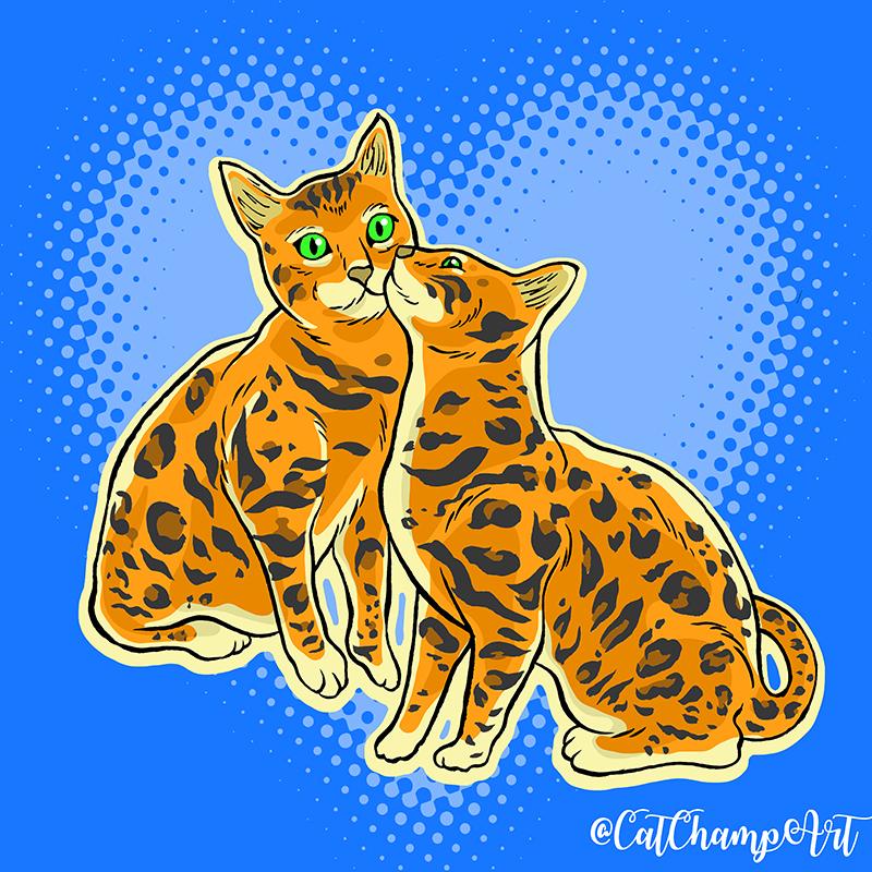 Smoochycats II